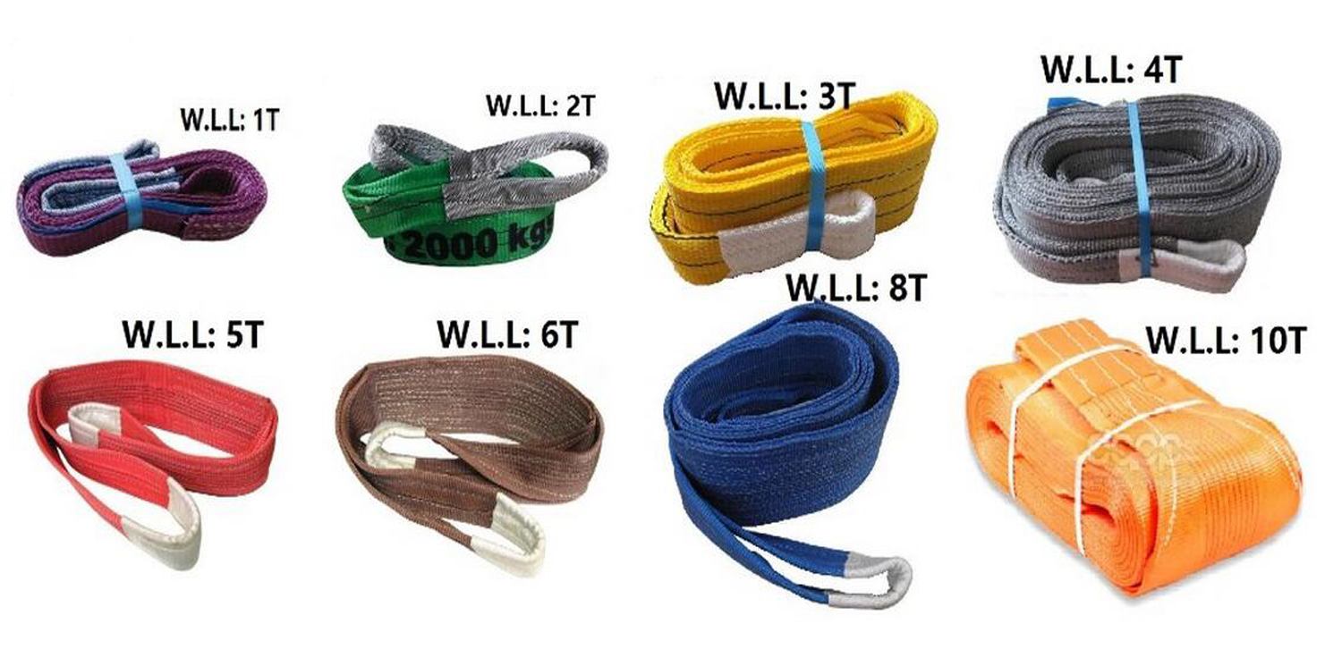 hoist lifting belt strap