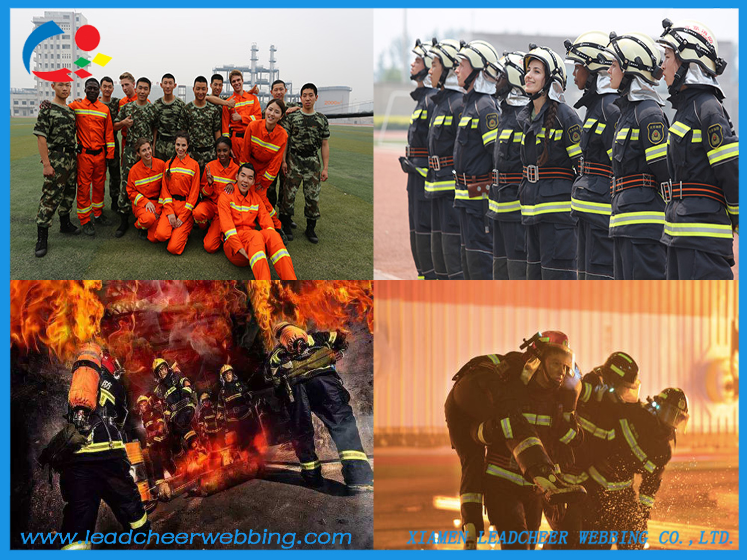 firefighter uniform reflective tapes